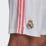 ADIDAS REAL MADRID 20/21 THUISSHORT WIT HEREN