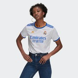 ADIDAS REAL MADRID THUISSHIRT 21/22 WIT DAMES