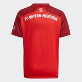 ADIDAS FC BAYERN MUNCHEN THUISSHIRT 21/22 ROOD KINDEREN