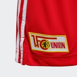 ADIDAS 1. FC UNION BERLIN 20/21 THUISSHORT ROOD KINDEREN