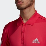 ADIDAS 3-STRIPES CLUB POLO TENNISSHIRT ROZE HEREN