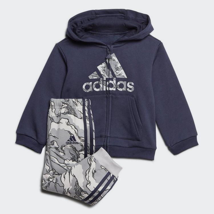 ADIDAS Fleece Hooded Joggingpak