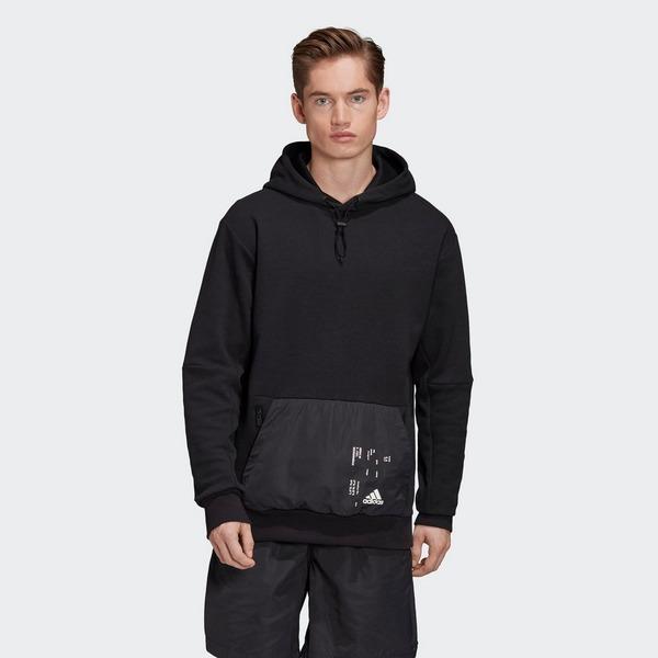 ADIDAS Woven Pocket Hoodie