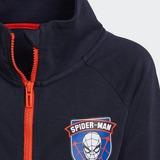 ADIDAS MARVEL SPIDER-MAN COVER-UP SET BLAUW KINDEREN