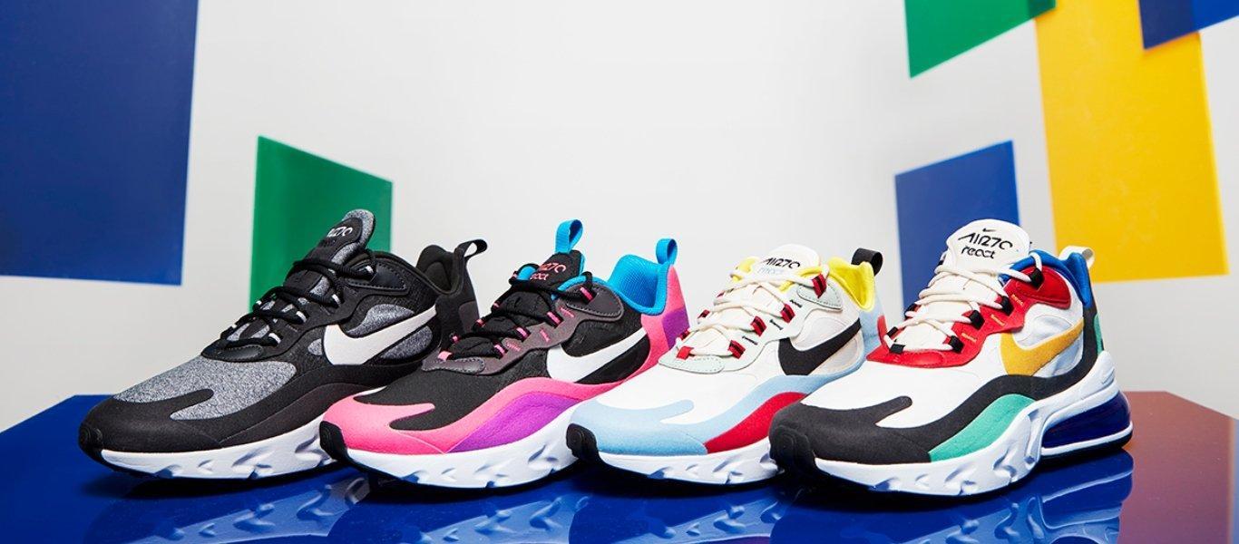 Nike React tech