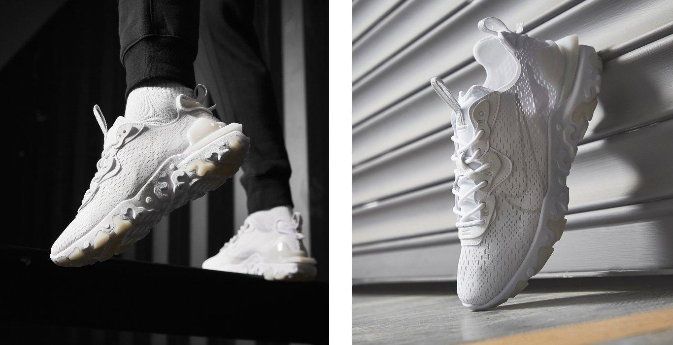Nike React vision bianco