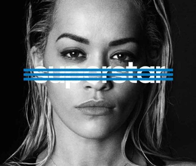 Rita Ora adidas Originals superstar