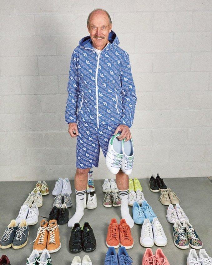 Tenista Stan Smith