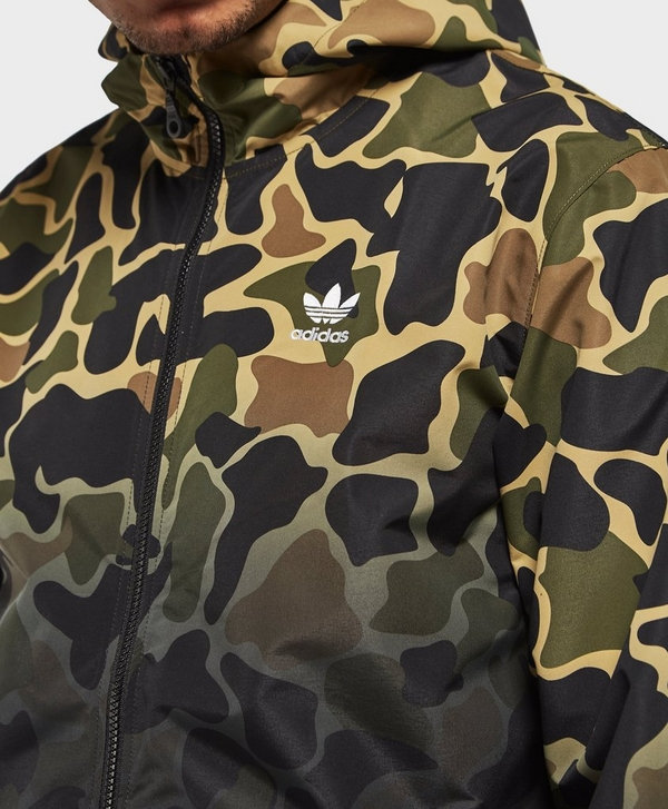 2aeb96a03d5d8 adidas Originals Camo Lightweight Windbreaker