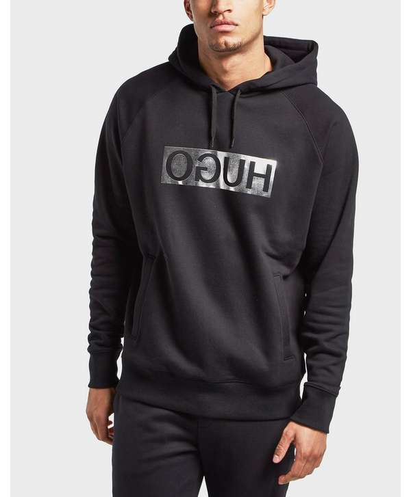 HUGO Foil Overhead Hoodie - Online Exclusive