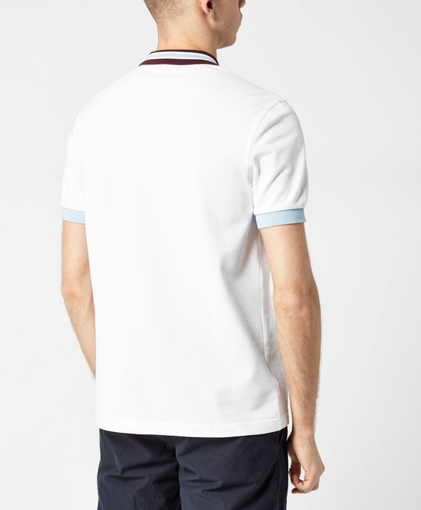371607678 Fred Perry Bomber Collar Polo Shirt