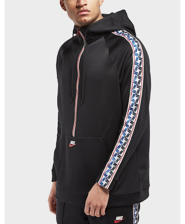 400268ef8 Nike Half Zip Taped Poly Hoodie | scotts Menswear