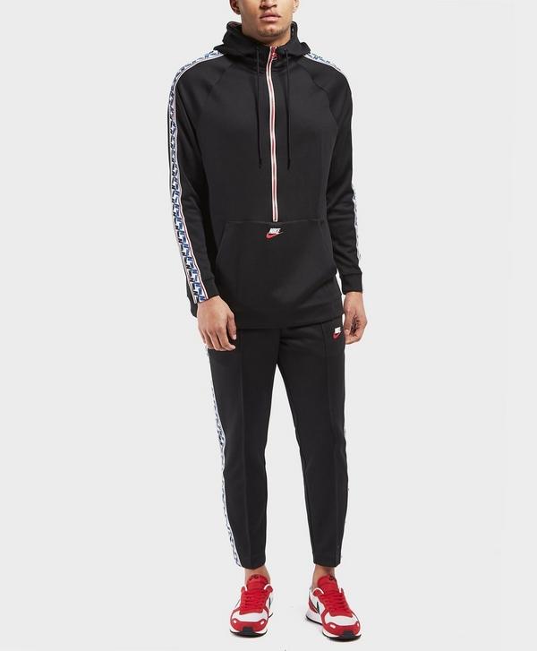 9cd037be56 Nike Half Zip Taped Poly Hoodie | scotts Menswear