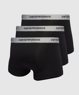 Emporio Armani Loungewear 3 Pack Boxer Shorts Men's