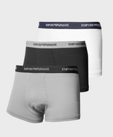 Emporio Armani 3 Pack Trunks