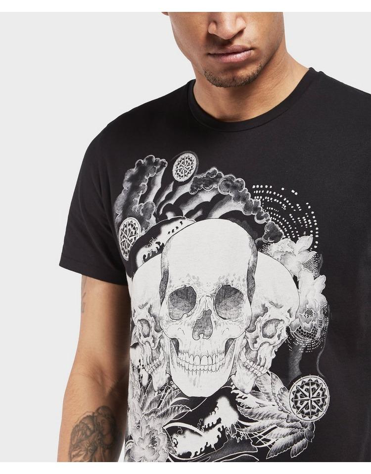 Just Cavalli Trip Skull Short Sleeve T-Shirt