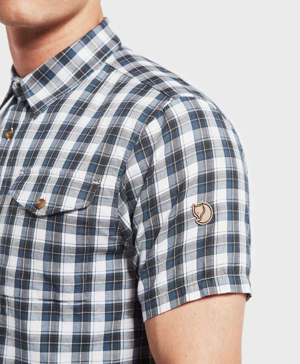 Fjallraven Singi Short Sleeve Check Shirt - Online Exclusive