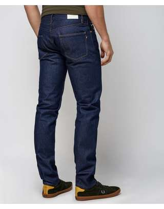 38bffbf3 Lacoste L!VE Slim Fit Selvedge Raw Denim Jeans | scotts Menswear