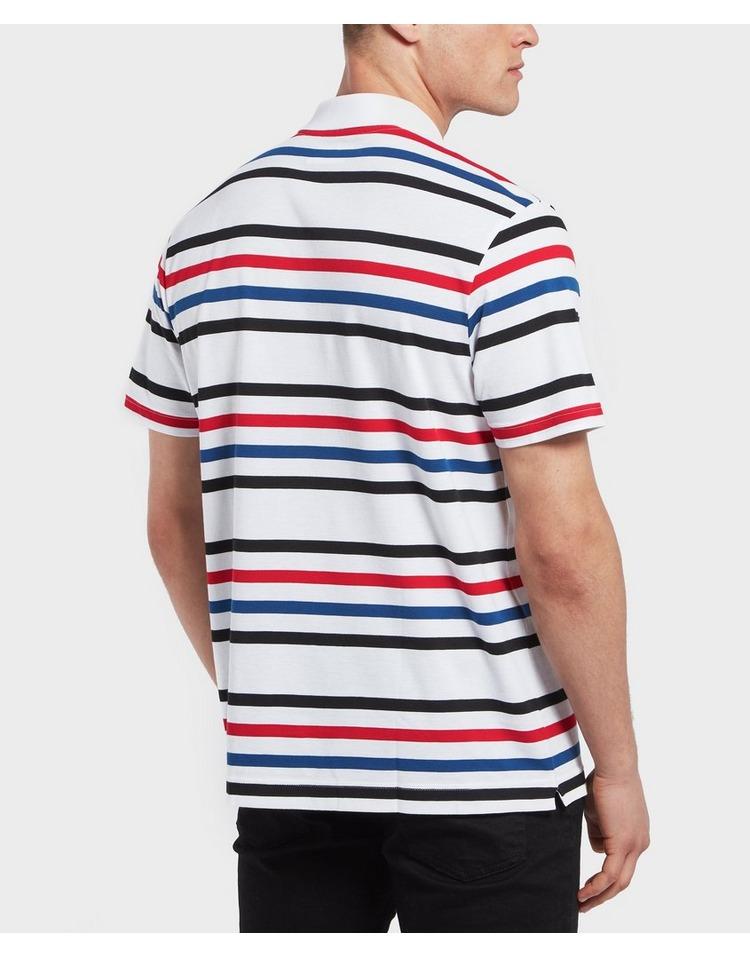 Lacoste Stripe Short Sleeve Polo Shirt