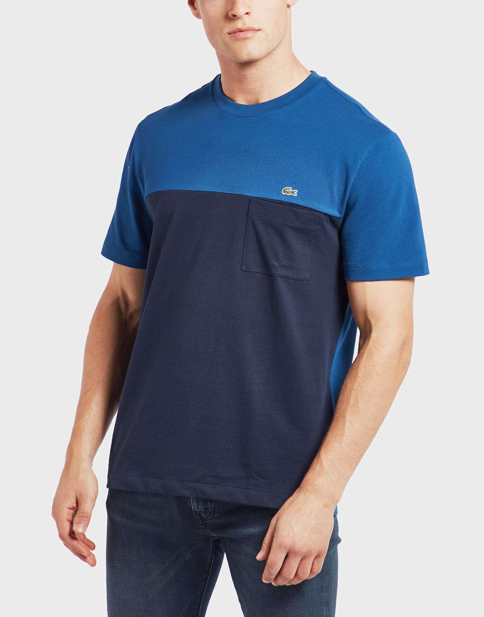 Lacoste Block Pocket Short Sleeve T-Shirt
