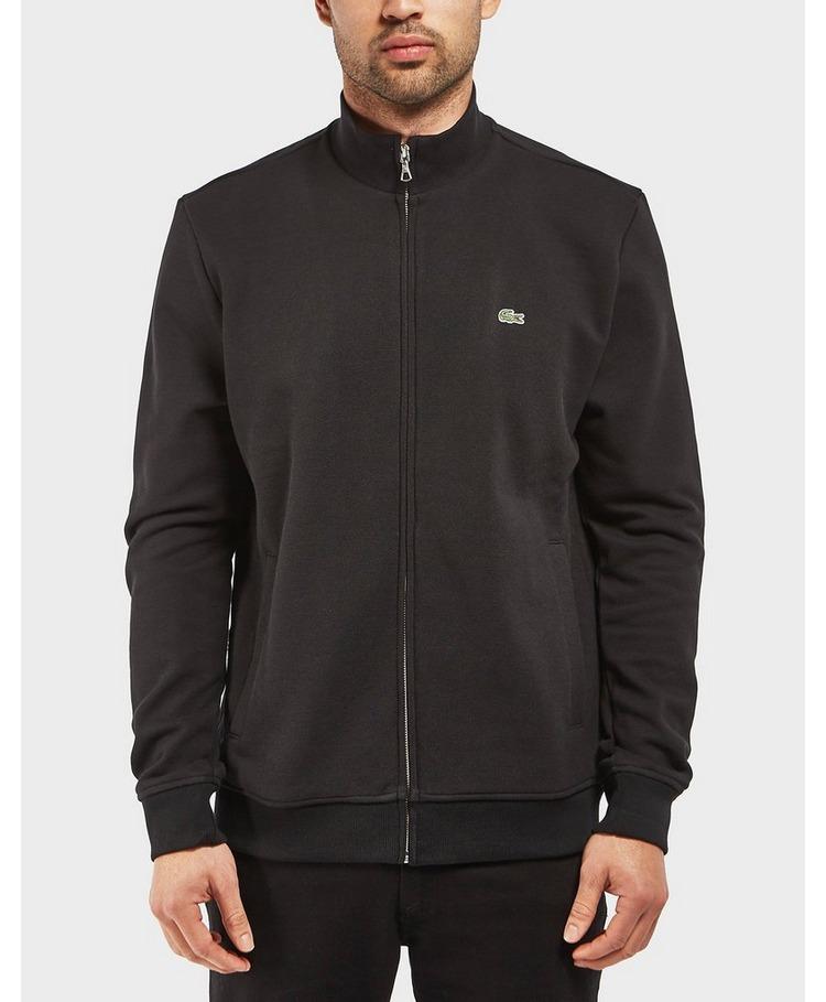 Lacoste Pique Fleece Zip Through Sweatshirt