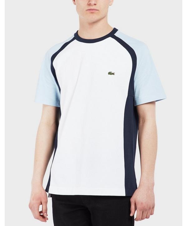 f86421de5 Lacoste Colour Block Short Sleeve T-Shirt   scotts Menswear