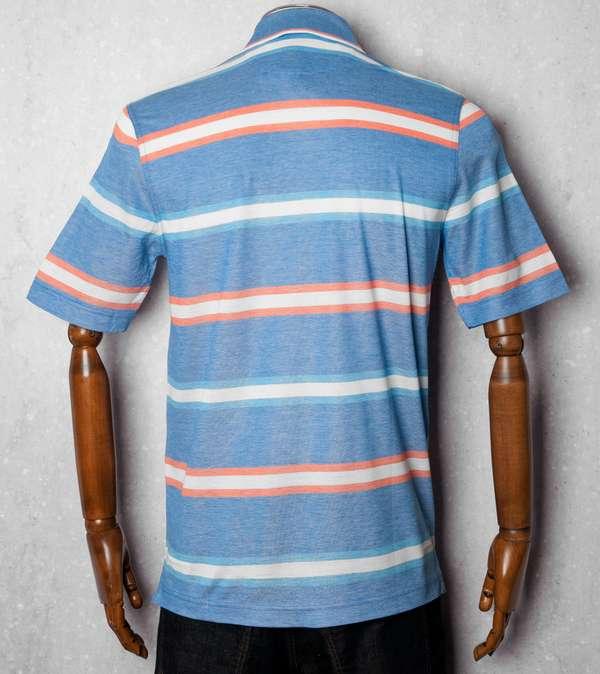 Paul and Shark Marl Stripe Polo Shirt | scotts Menswear