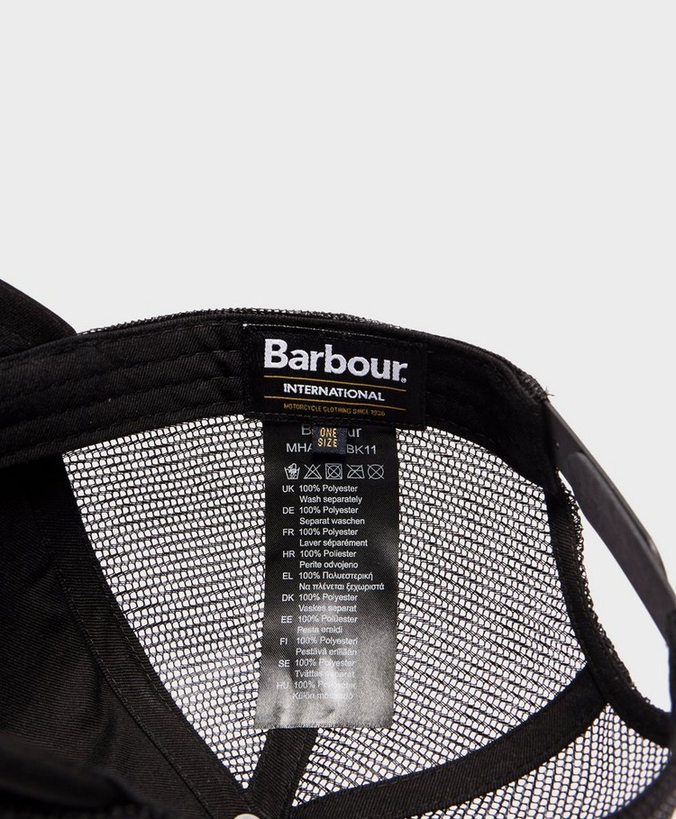 Barbour International Heli Trucker Cap