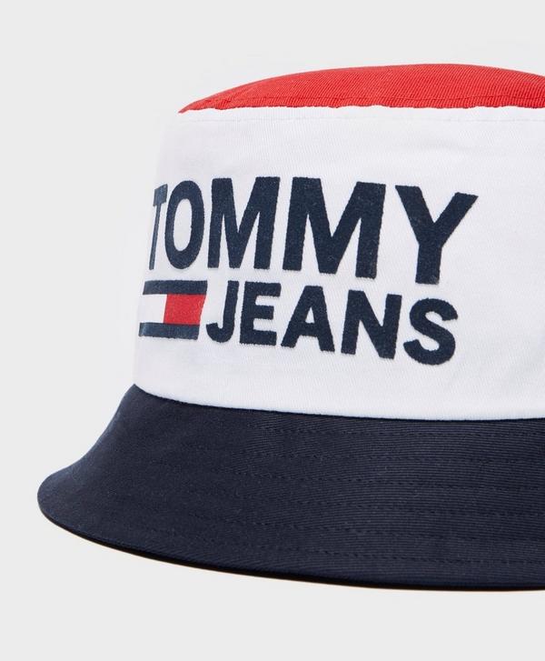 92d31c28 Tommy Jeans Reversible Bucket Hat | scotts Menswear