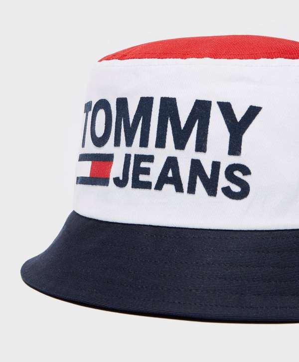 5e849301cbae88 Tommy Jeans Reversible Bucket Hat | scotts Menswear