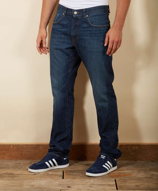 e3e784ab Lacoste Relaxed Croc Straight Fit Jeans - Long | scotts Menswear