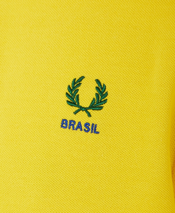 419f90a89 Fred Perry Twin Tip Brasil Polo Shirt