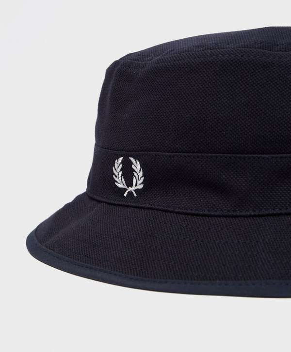 ed26f2f71 Fred Perry Pique Reversible Bucket Hat | scotts Menswear