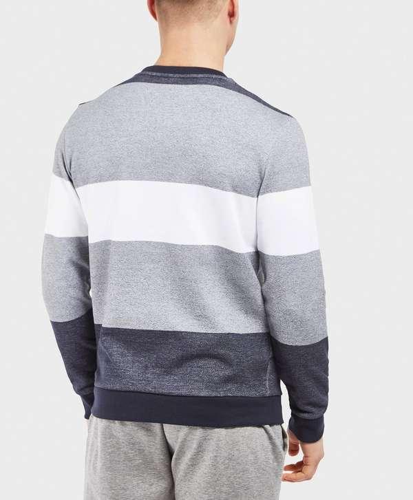 BOSS Marl Stripe Sweatshirt