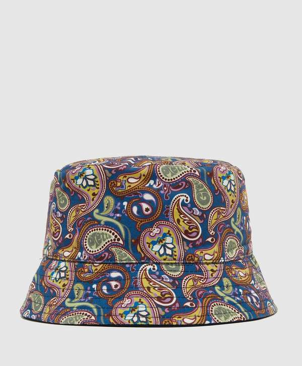 ebb4aaefd Pretty Green Vintage Paisley Reversible Bucket Hat | scotts Menswear
