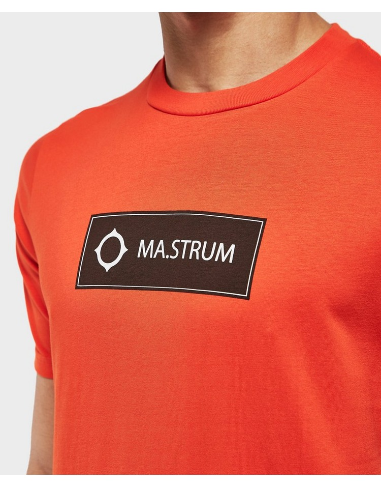 MA STRUM Icon Box Logo Short Sleeve T-Shirt