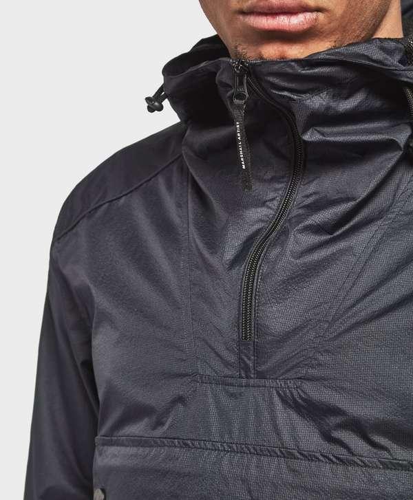 Marshall Artist Micro Rip Half Zip Lightweight Jacket