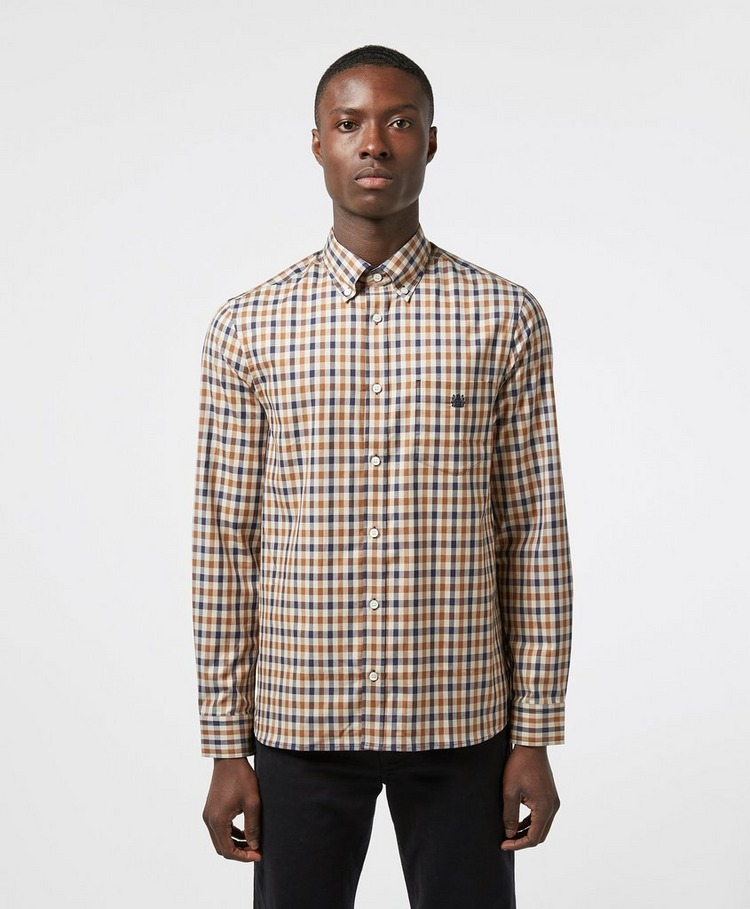 Aquascutum York Club Check Long Sleeve Shirt - Exclusive