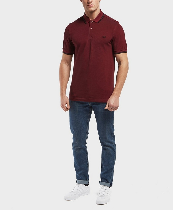 b58a57437 Fred Perry Twin Tipped Short Sleeve Polo Shirt