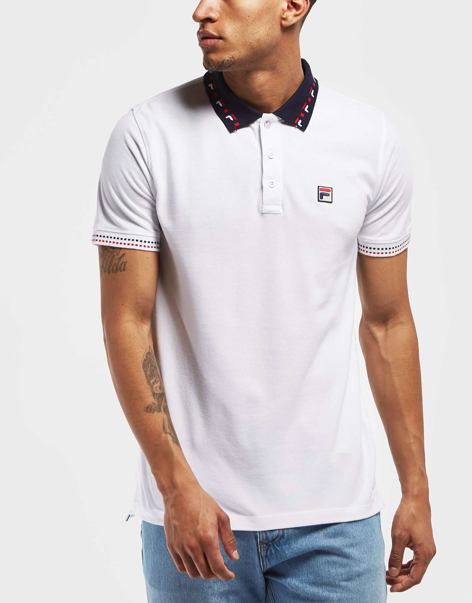 Fila Castagna Short Sleeve Polo Shirt - Exclusive