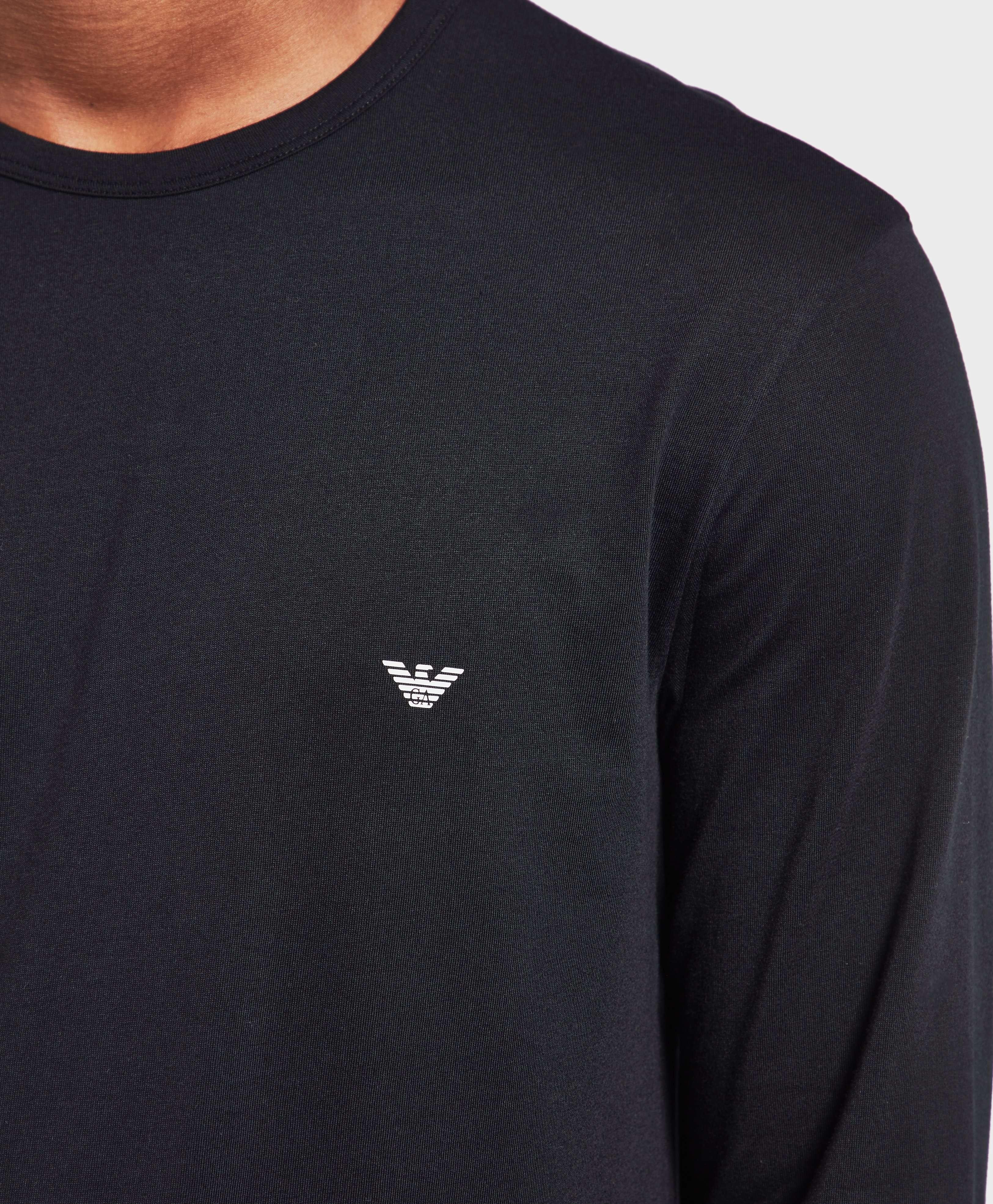 Emporio Armani Long Sleeve Crew T-Shirt