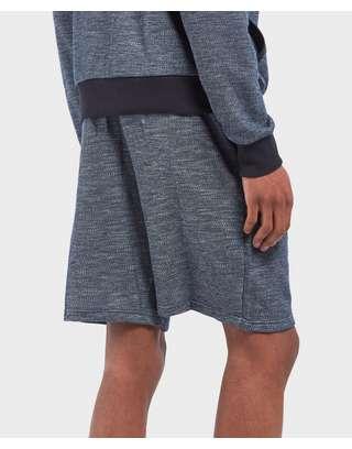 Emporio Armani Marl Fleece Shorts