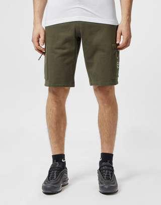 Emporio Armani EA7 Logo Fleece Shorts - Exclusive