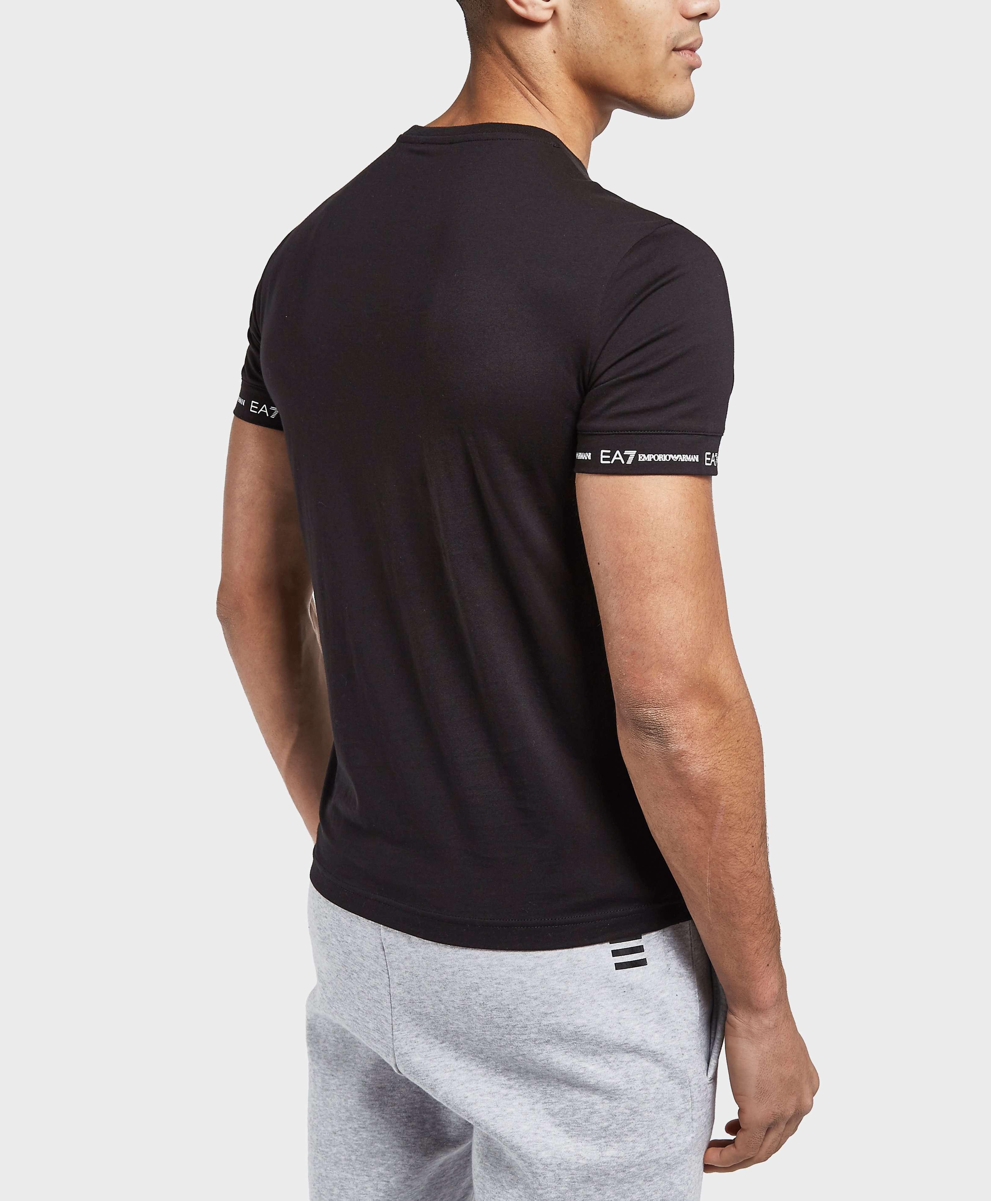 Emporio Armani EA7 Sleeve Branded Short Sleeve T-Shirt - Exclusive