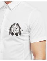 Versace Jeans Leaf Logo Short Sleeve Shirt