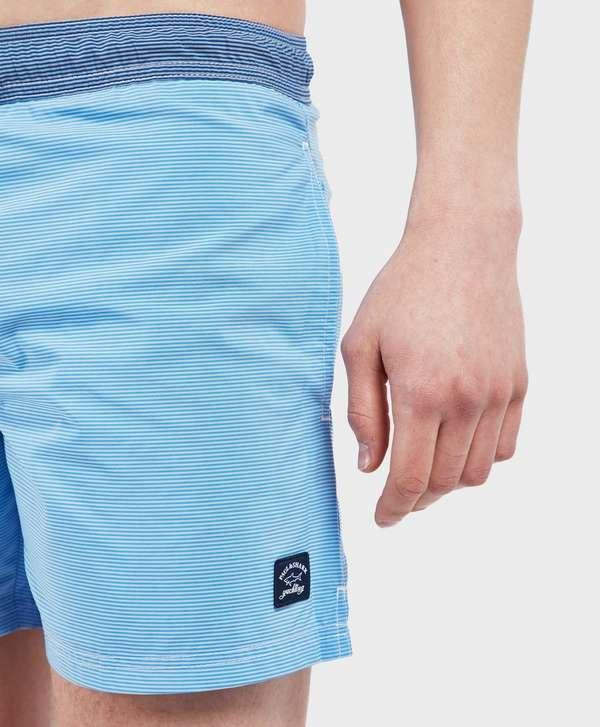 3e517ee501 Paul and Shark Stripe Swim Shorts - Online Exclusive | scotts Menswear