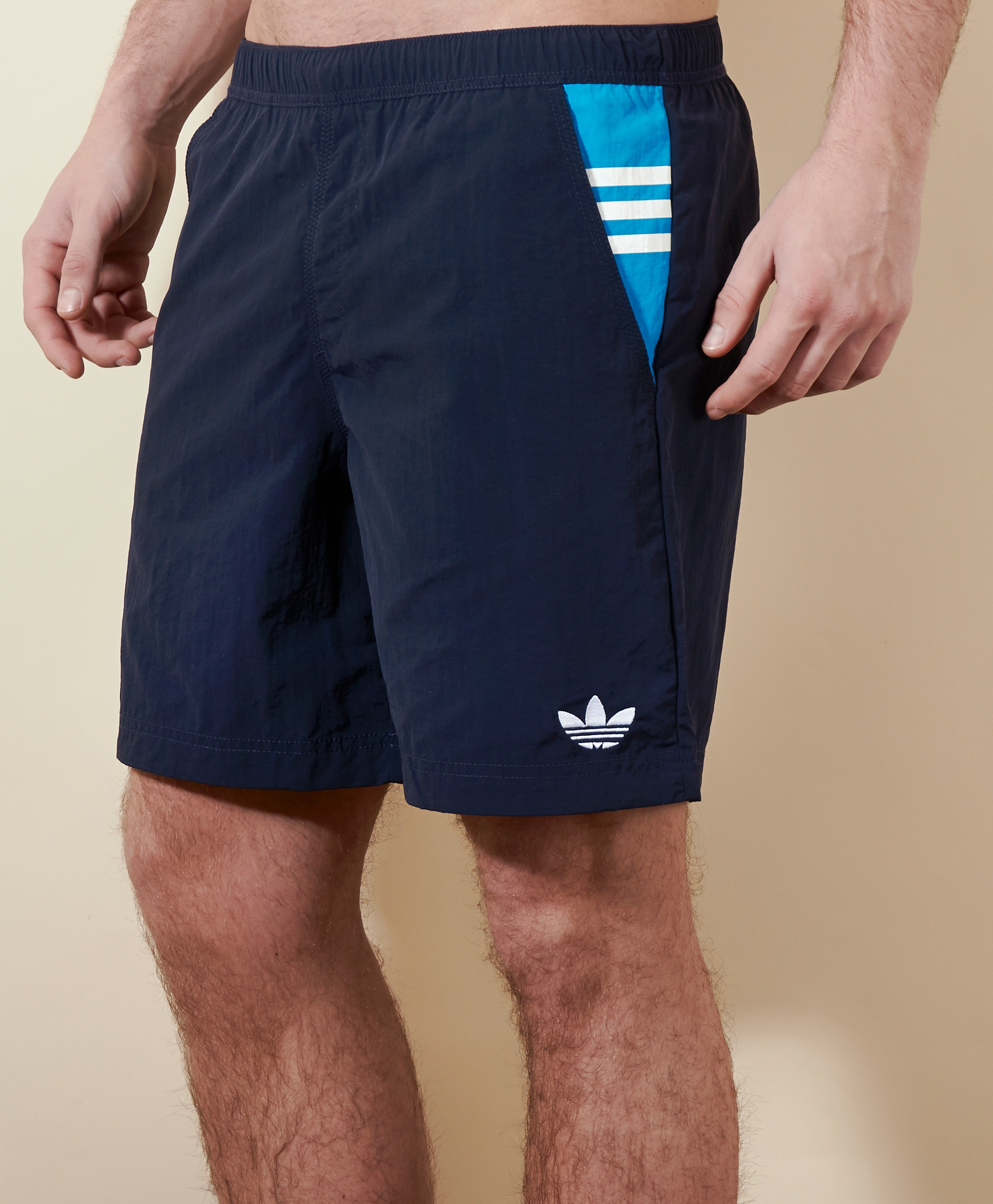 adidas Originals Trefoil Swim Shorts | scotts Menswear