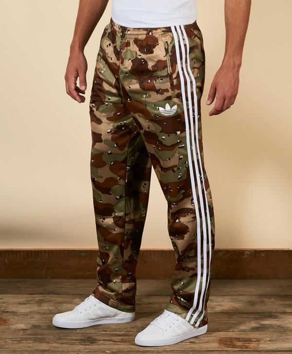727936032ddf adidas Originals Camo Firebird Track Pants
