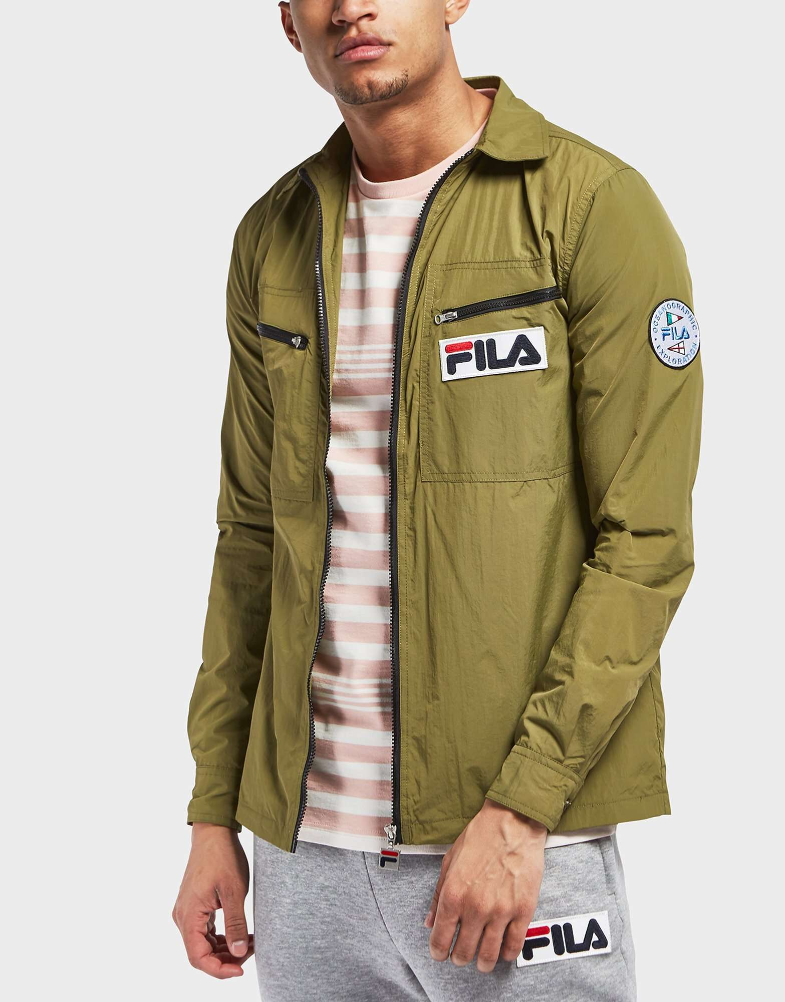Fila Condor Long Sleeve Overshirt