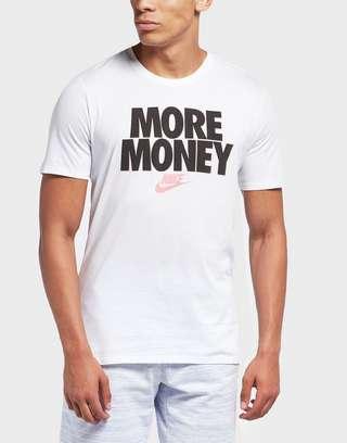 Nike More Money Short Sleeve T-Shirt   scotts Menswear